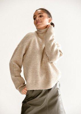 Molly Bracken Molly Bracken Sweater Darcy Knitted Turtleneck