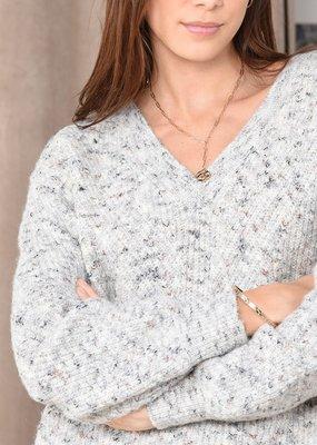 Molly Bracken Molly Bracken Sweater Ava Knitted V-Neck
