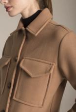 DÈLUC Deluc Shacket Button Up w/ Pockets