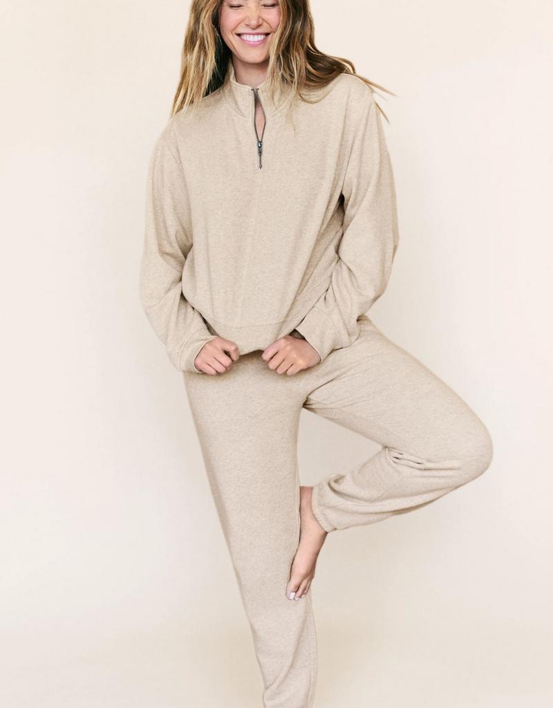 ZSUPPLY Z Supply Sweater Half Zip Pullover