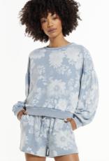 ZSUPPLY Z Supply Pullover Zara Floral L/Slv