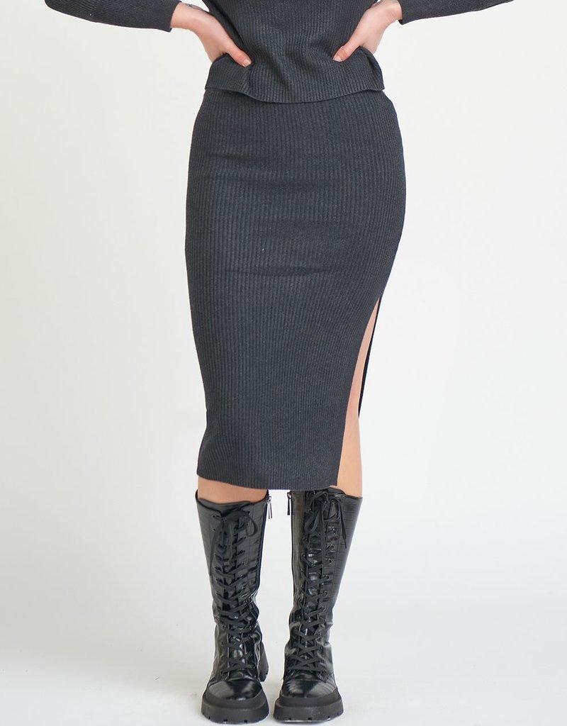 DEX Dex Ivy Midi Skirt W/ Slit