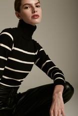 DÈLUC Deluc Sweater Saylor Striped Turtleneck