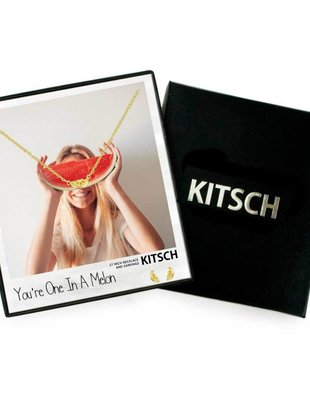 Kitsch Kitsch Necklace/Earring Box Set You're One In A Melon