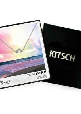 Kitsch Kitsch Necklace/Earring Box Set Blessed Rainbow