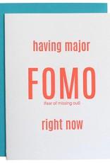 Chez Gagné Greeting Cards Major Fomo