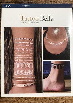 Tattoo Bella Tattoo Bella Metallic Tattoo Collection