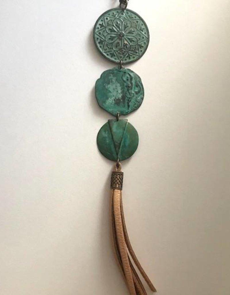 ORNAMENTAL THINGS Ornamental Things Three Verdigris w/ Tassel