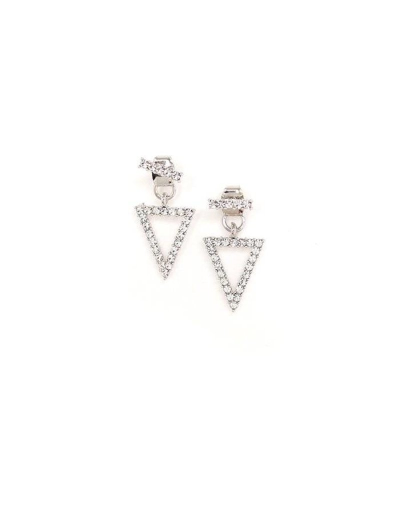 Lovers Tempo Lovers Tempo Jacket On Point Crystal Earrings