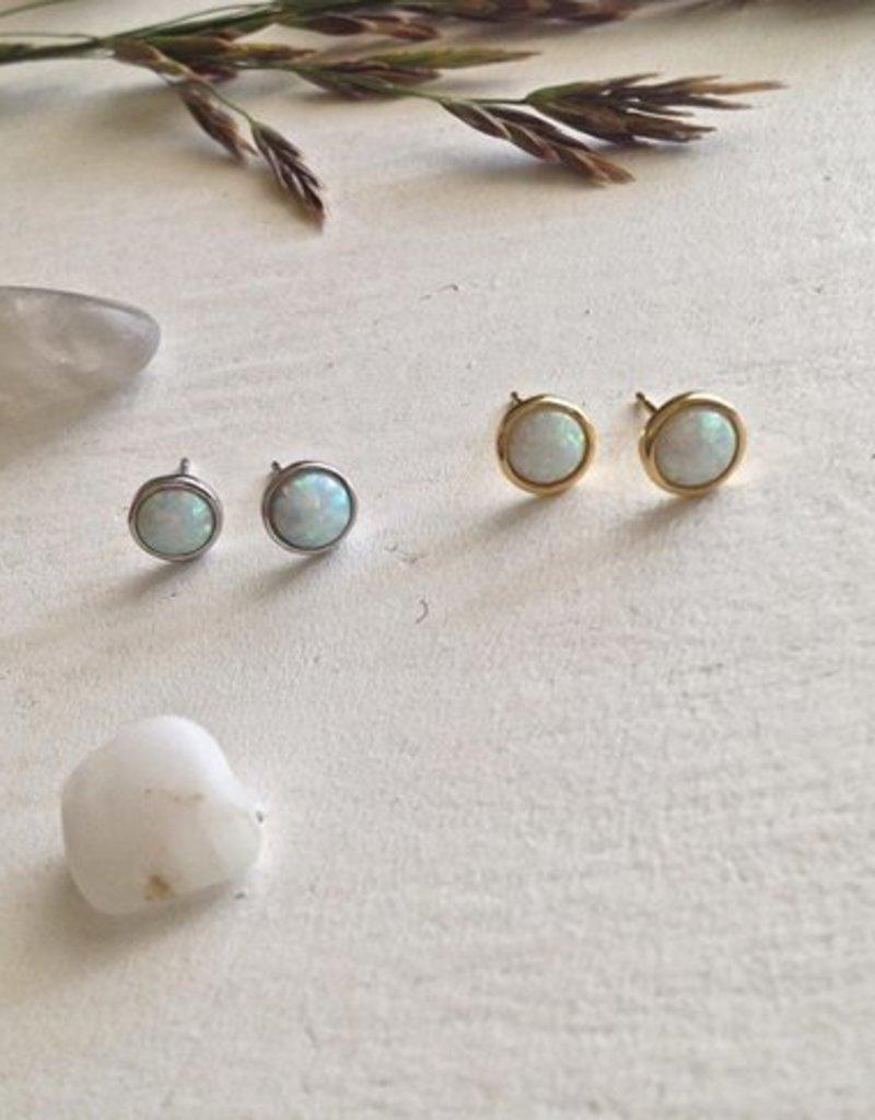 PIKA&BEAR Pika & Bear 'Ingred' Opal Cabochons Earrings