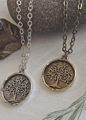PIKA&BEAR Pika & Bear 'Old Growth' Tree Of Life Talisman Necklace