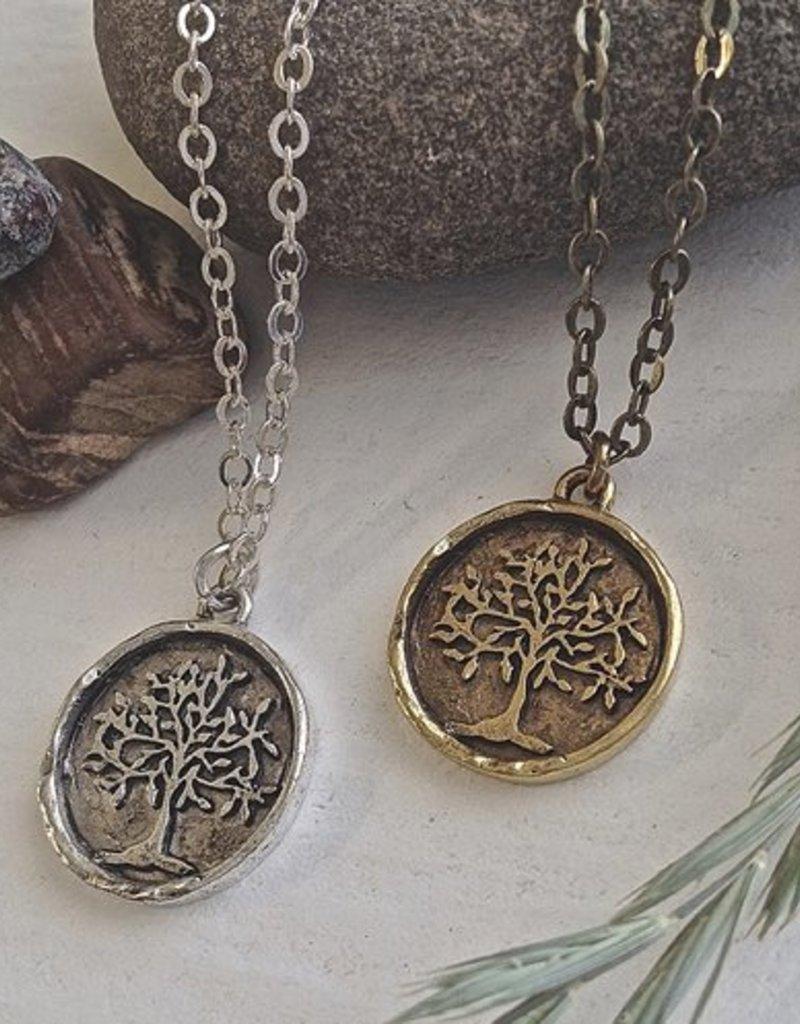 PIKA&BEAR Pika & Bear 'Old Growth' Tree Of Life Talisman Necklace