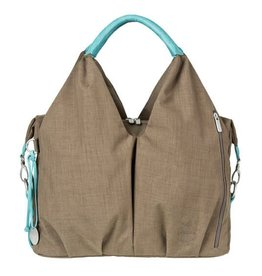 Lassig GREEN LABEL NECKLINE BAG - TAUPE
