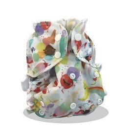 Applecheeks APPLECHEEKS ONE SIZE COVER-WHIRLED PEACE