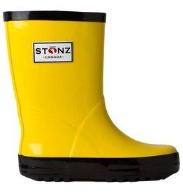 Stonz STONZ RAIN BOOTZ - SIZE 6 YELLOW