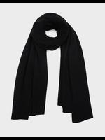 WHITE + WARREN Black Cashmere Travel Wrap