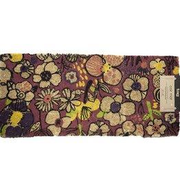 tapis d'entrée fleurs