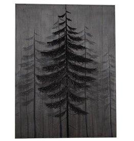 pins sur bois 30x40