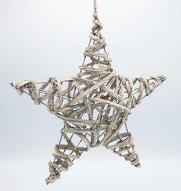 """étoile rotin 12"""""""