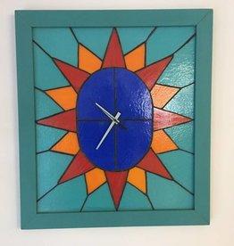 Horloge vitrail