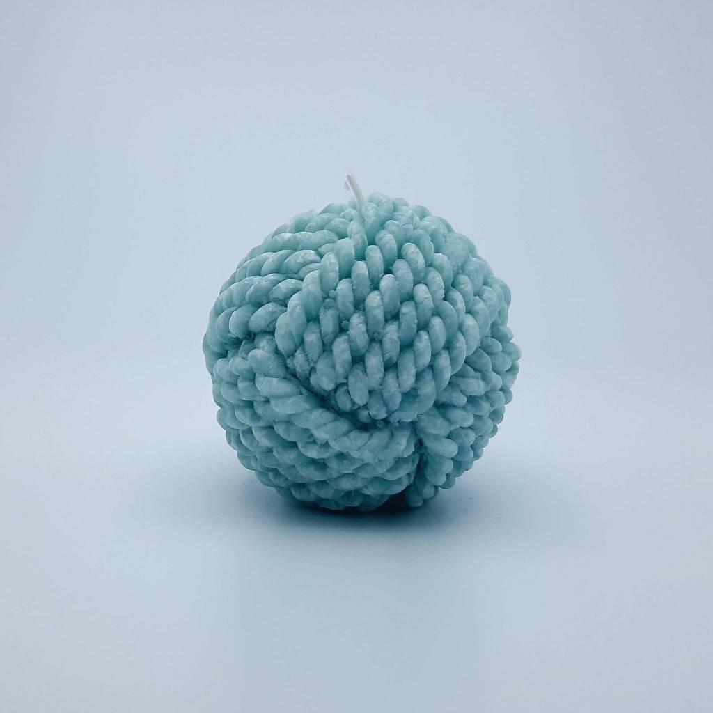 Chandelle 7cm en boule de laine (4 couleurs disponibles)