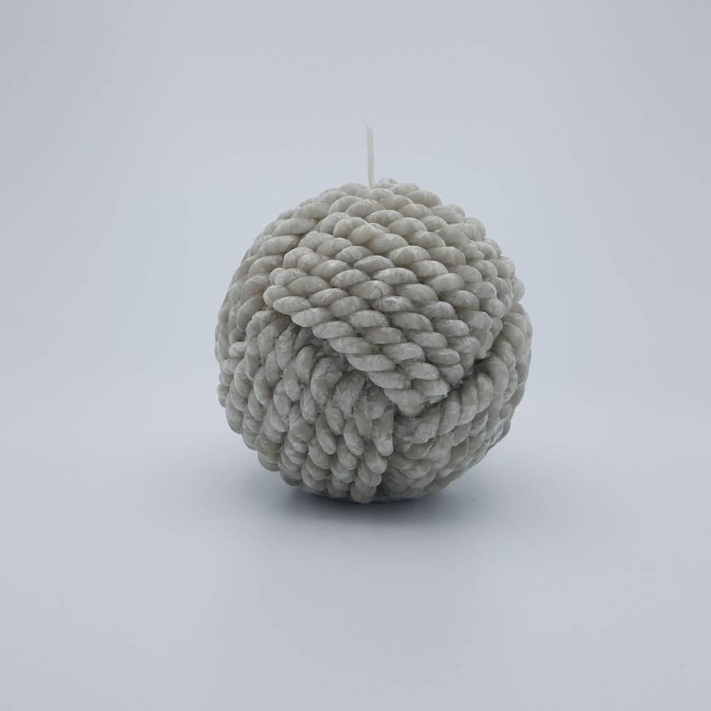 Chandelle 11cm en boule de laine (4 couleurs disponibles)