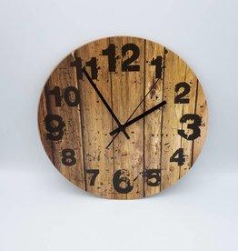 horloge simili bois