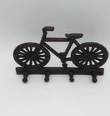 Crochets muraux en forme de bicyclette
