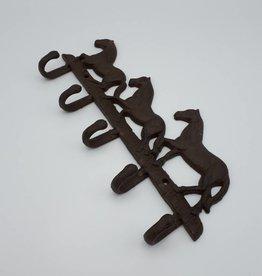 Crochets muraux en forme de chevaux