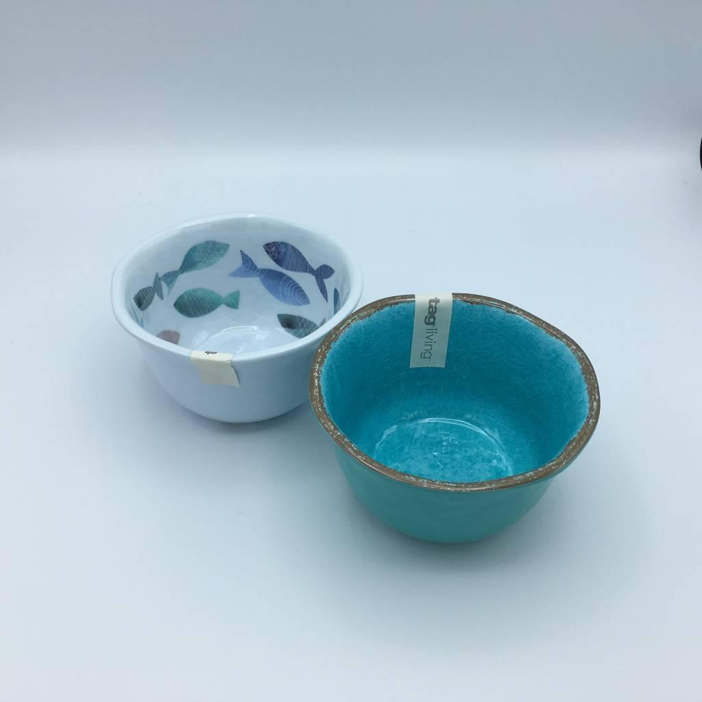 melamine bol à dip 8cm x 13cm