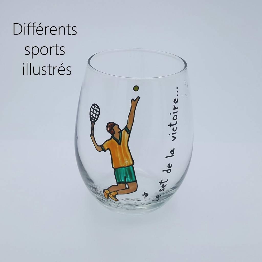 verres peints