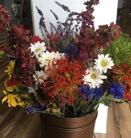 Tige de fleurs artificielles décorative