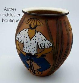 """vases Geraldine Sempol -8"""" diamètre"""