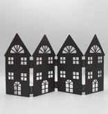 Maison pliée métal