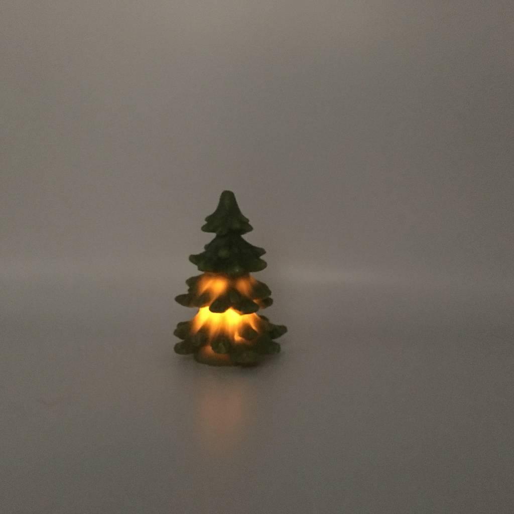 chandelle LED sapin