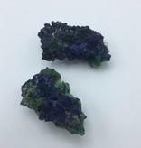 Pierre d'azurite-malachite