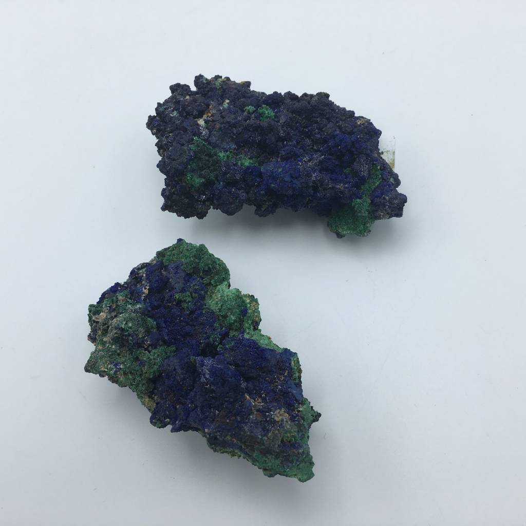 azurite et malachite