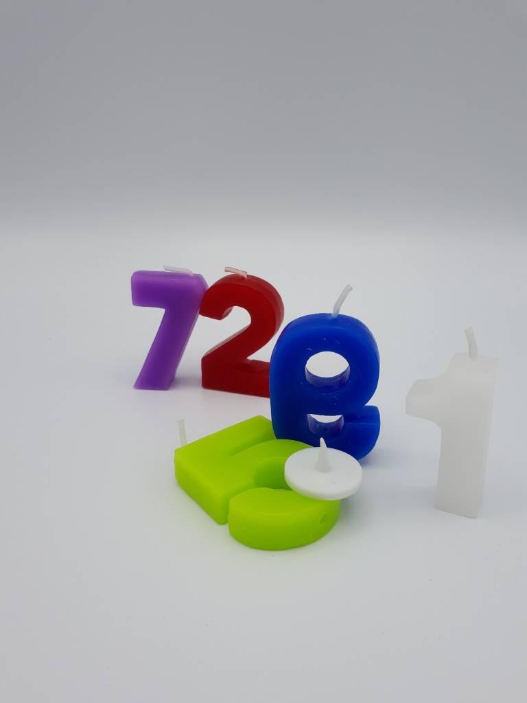 Chandelles d'anniversaire en chiffres