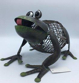 grenouille en métal
