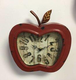 Horloge murale en forme de pomme