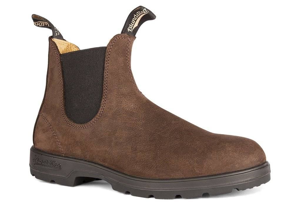 Blundstone Blundstone 1606 Leather Lined Brown Nubuck