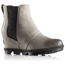 29b39d40808 Sorel Joan Of Arctic Wedge II Chelsea Boot Womens - The Trail Shop