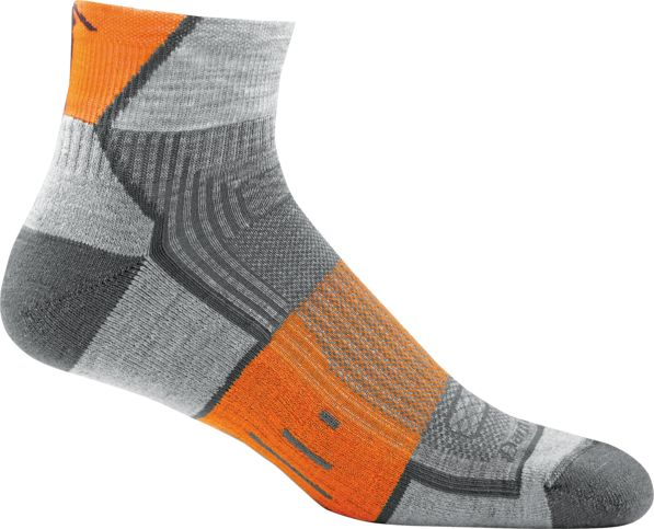 1003M Grit Merino 1/4 Light Cushion Sock Mens