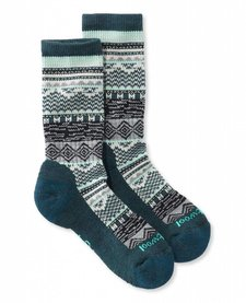 Dazzling Wonderland Crew Socks Womens