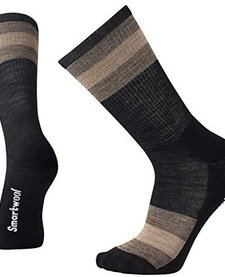Hike Light Crew Striped Socks Mens