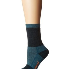 SmartWool Hike Medium Crew Striped Socks Womens