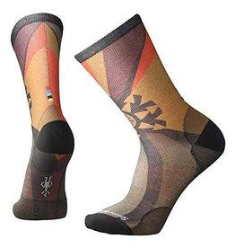 SmartWool Goldflake Print Crew Socks Mens