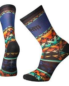 Bird Geo Print Crew Socks Mens