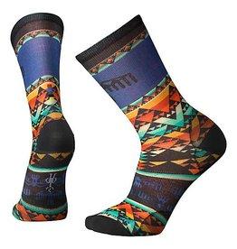 SmartWool Bird Geo Print Crew Socks Mens