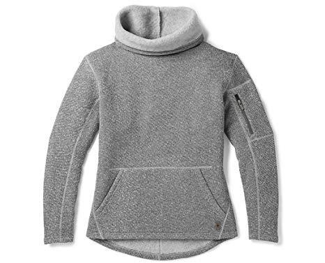 SmartWool Hudson Trail Pullover Fleece Sweater Womens